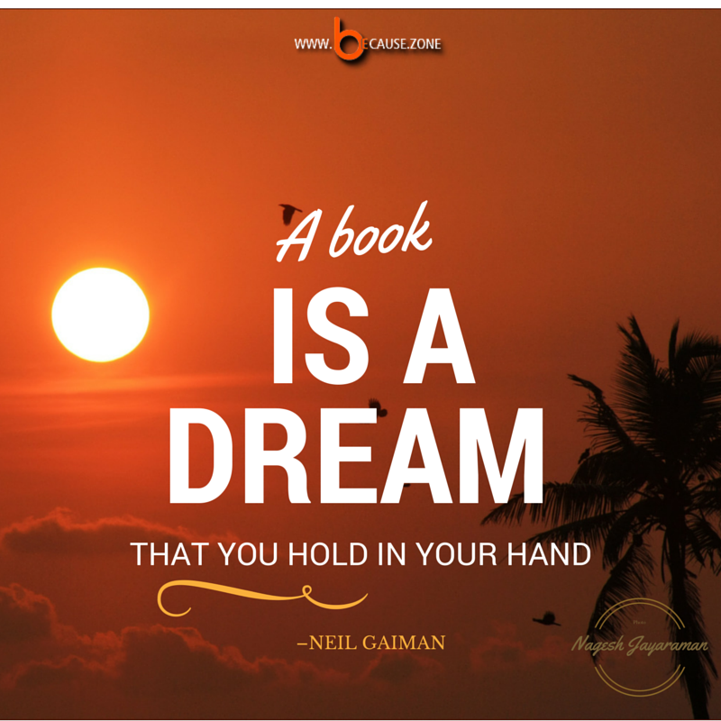 A book is a dream @ www.because.zone