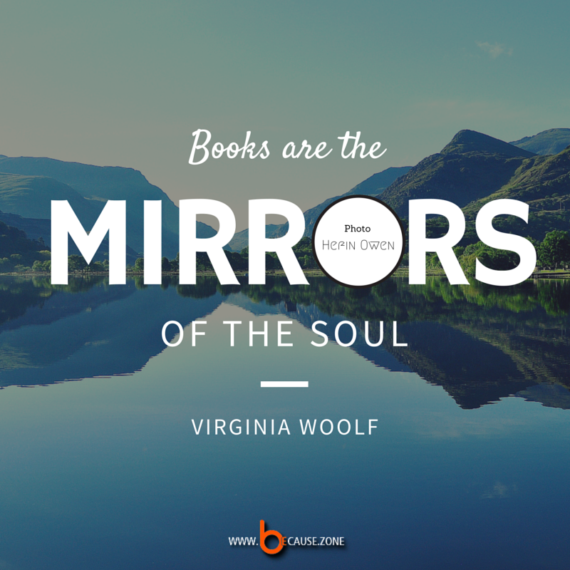 Books are the mirrors @ www.because.zone