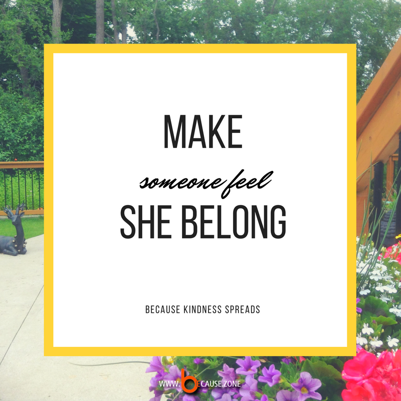 make-someone-feel-she-belong